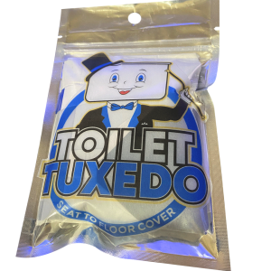 Toilet Tuxedo - Seat to Floor Cover kit